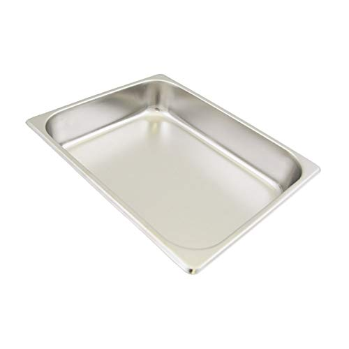 (Update International STP-501 S/Steam Table Pan, Half Size, 1 4 in Deep, 18-8 Stainless Steel AISI-304)