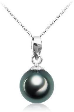 AA 40 cm 9 mm Süßwasser Perlen Schmuck Halsketten Perlenkette Collier Luxus neu