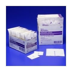 "Covidien EXCILON AMD Antimicrobial Drain Sponges - 4"" x 4..."