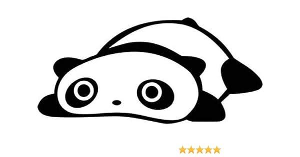 SAD BEAR Panda Vinyl Decal Sticker Window Car Truck JDM