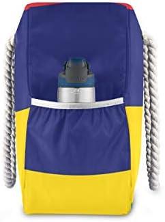 MORITAトートバッグ/肩掛け デイリー エコバッグ レディース ビーチバッグ ショルダー 収納 a4入り マザーBAG カジュアル モーリシャス旗