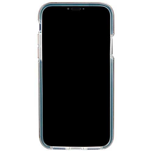 Case-mate métallique Elements Design fin protection contre les chocs absorbant les chocs Bumper anti-rayures Karat Coque pour iPhone 8–Turquoise