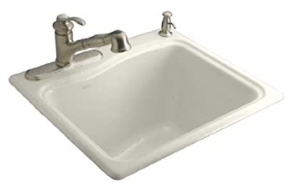 KOHLER K 6657 1 0 River Falls Self Rimming Sink With Single