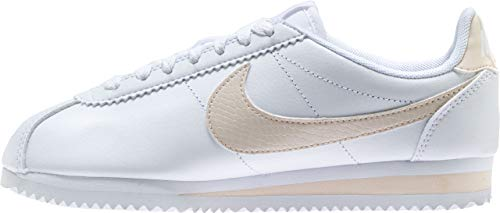 NIKE Scarpe White Classic Wmns Guava Ice 109 Cortez Running Multicolore Leather Donna ZI4Zrqxwg