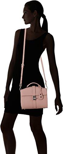 Trussardi Jeans Damen Suzanne Ecoleather Smooth Handbag Shopper, 25x23x12 centimeters Pink