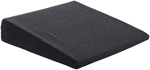 Brandsseller Stoelkussen stoelkussen autostoelkussen bureaustoelkussen38 cm x 38 x 82 cm zwart