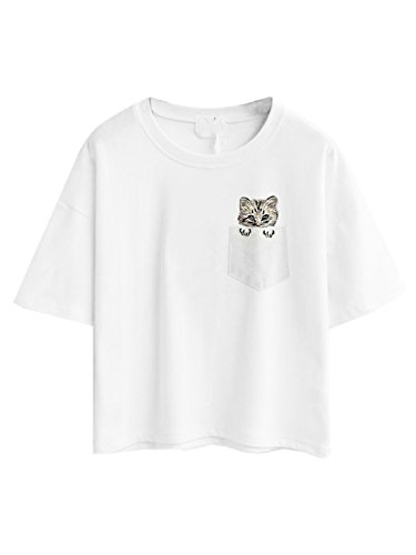 Persun Embroidery Letter Sleeves T shirt product image