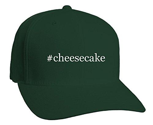 #cheesecake - Hashtag Adult Baseball Hat, Forest, Large/X-Large
