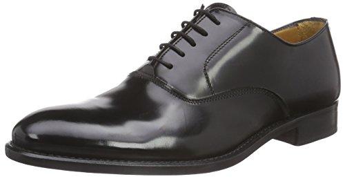 Florsheim Ravel - Zapatos de cordones para hombre Negro - Schwarz (BLACK BRUSH OFF)