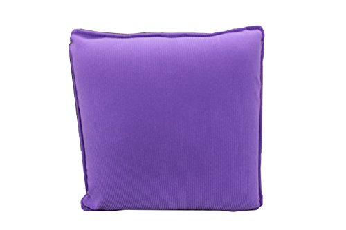 Activated Comfort Massager (HealthmateForever HIGH QUALITY Pressure Activated vibrating pulsating Pillow Massager for FOOT, LEG, BACK,NECK Cordless, no controller needed. Battery Operated! Purple corduroy fabric comfort massage pillow Products. please check other 11 colors Shipping to USA ONlLY)
