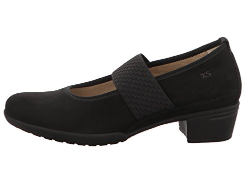Hartjes Women's 18262-1.00 Court Shoes Black k4iw0KF