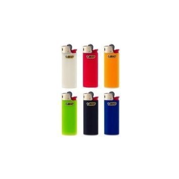 Bic Mini Lighters (6 Mini BIC Lighters - all different colours by country)