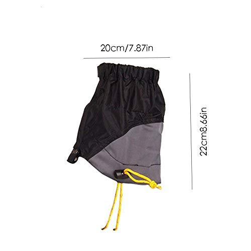 Leggings B Randonnée L'eau Chaussures Déchirure Silicone Pied Couverture Résistant Pcs La Respirantes Running Des 2 Imperméable proof Légère Garde Sable Extérieur Neige À De xgXq1R