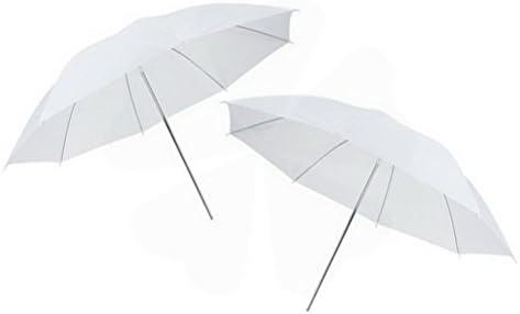 Flash Translucent White Soft Umbrella for Photography Video Studio 43 White Soft Umbrella 2 Packs by Ucland