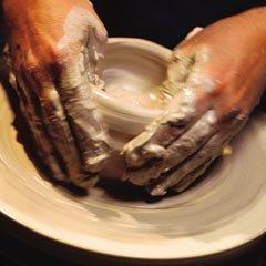 AMACO High Fire Moist Non-Toxic Stoneware Clay, 50 lb, Buff No. 46, ()