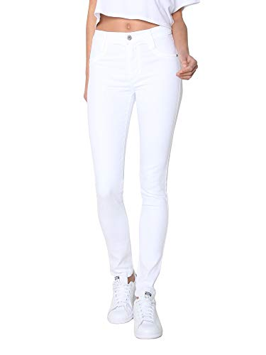 James Jeans Women's High Waisted Skinny Jeans in Fresh White Size 25 ()