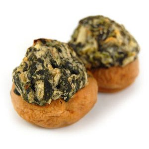 Van Lang Foods Spinach & Cheese Stuffed Mushrooms Appetizer - 1 oz (200 Count)
