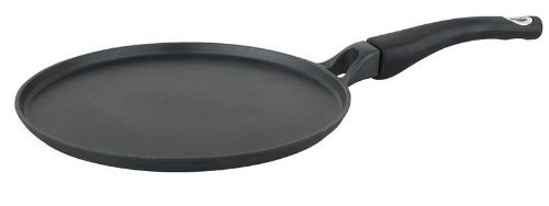 Strauss Prestige Aluminum Nonstick 11 Inch Crepe Pan - Induction Ready