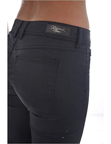 Mujer Blu Pantalones Azul Ower Kaporal Largo 32 Khol Carbón Jeans De tqRwxHf