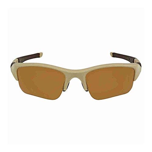 (Oakley Flak Jacket XLJ Polarized Sunglasses Desert Tan Frame / Bronze Polarized Lens 53-100)