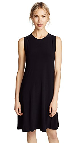 KAMALIKULTURE Women's Kamali Kulture Sleeveless Swing Dress, Black, Medium