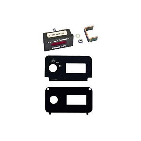 Amazon.com : EZGO 612074 State of Charge Meter Kit For 36 Volt TXT on club car 48v wiring-diagram, club car precedent wiring-diagram, club car 36v wiring-diagram, club car ds wiring-diagram,