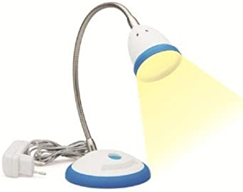 LED Desk Light - Illumina - Neutral White Light-Blue Desk Lights at amazon