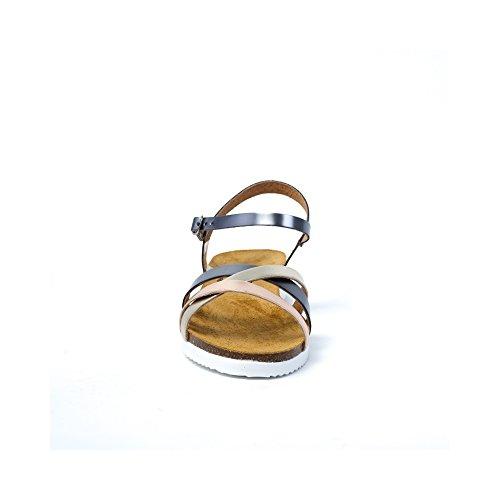 PLAKTON Women's Clogs & Mules Gold ZVdnQ