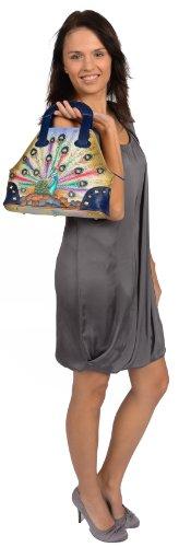 Zimbelmann Ashley Sac à main en cuir nappa peint à la main pour femme