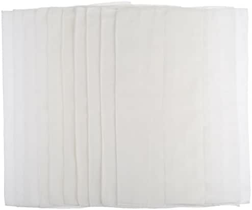 Gerber Birdseye 3-Ply Prefold Cloth Diapers, White, Pack of 10