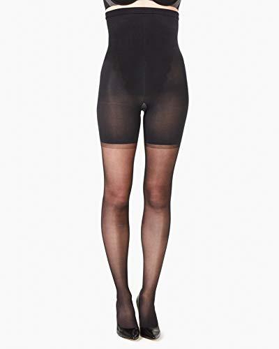 Spanx High-Waisted Sheer Black b
