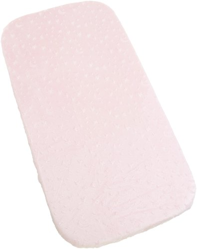 Carters Super Soft Star/Moon Changing Pad Cover, Pink by Carter's