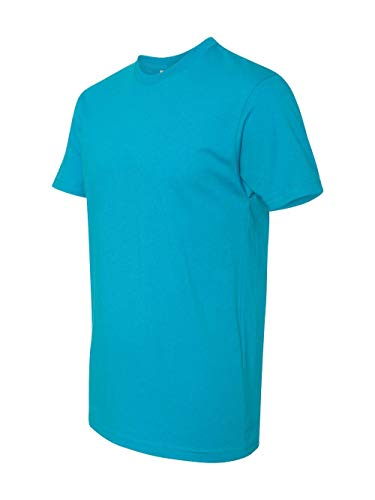 Next Level Mens Premium Fitted Short-Sleeve Crew T-Shirt - XX-Large - Turquoise