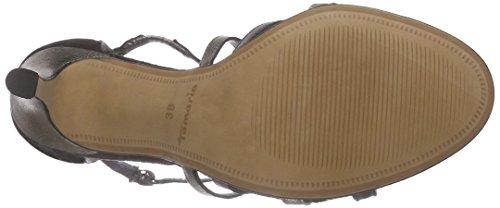 Open Tamaris 28339 Schwarz Black Toe Sandals 098 Comb black Women's ESEqwdr