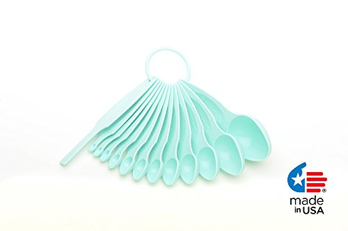POURfect 13pc Measuring Spoon Set - Ice Blue (Kitchenaid Ice Blue compare prices)