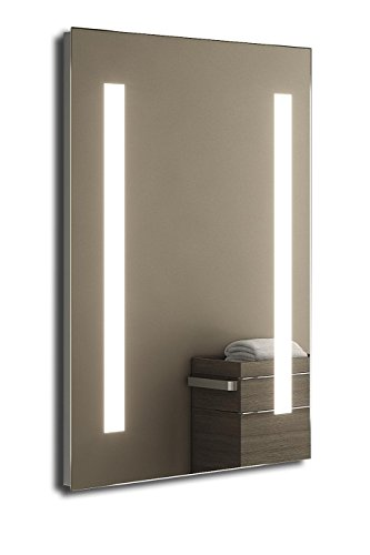 Nilaa Ultra-Slim LED Bathroom Mirror With Demister Pad & Sensor k204i