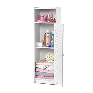 AIMU Waterproof Bathroom Cabinets, Storage Accessories Floor Standing Cabinet for Bathroom,Furniture for Bathroom…