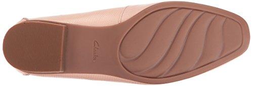 Clarks Women's Keesha Luca Slip-on Loafer, Dusty Pink Leather, 8.5 W US by CLARKS (Image #3)