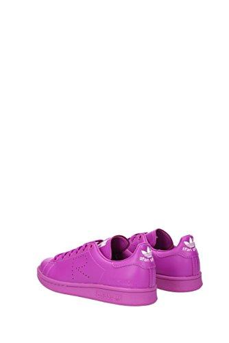 Unisex 36 2 Fuchsia Cuir 3eu Adidas S74593rafsimonsstansmith Sneakers gqx7w5RR