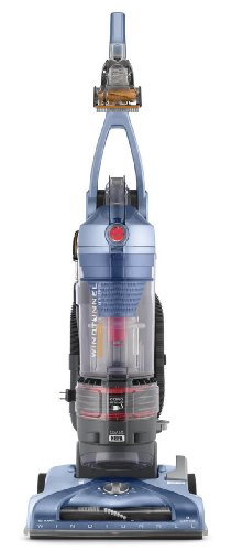 (Hoover T-Series WindTunnel Pet Rewind Bagless Corded Upright Vacuum UH70210, Blue)