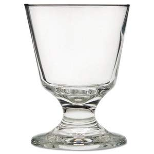 (Libbey Embassy Footed Drink Glasses, Rocks, 5.5 Oz, 4 1/8