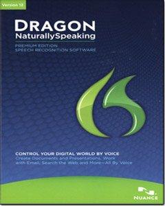 Dragon NaturallySpeaking Premium 12, English