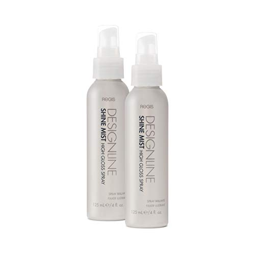 Shine Mist High Gloss Spray - Regis DESIGNLINE - Enhances and Prolongs Blowout Results while Delivering Long-Lasting Shine and Frizz-Free Smoothness for All Hair Types (2 Pack) ()