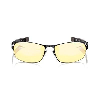 Gunnar Optiks MLG Phantom Full Rim Advanced Video Gaming Glasses with Headset Compatibility and Amber Lens Tint