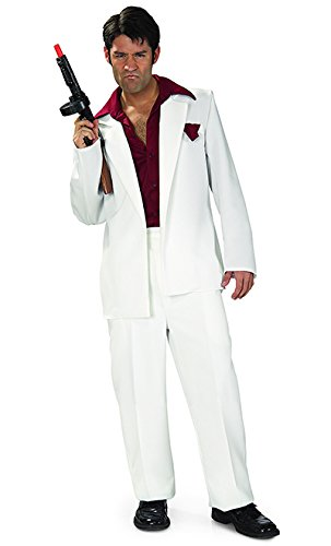 Rubies Costume Co Scarface Adult Costume,Multicolored,One Size
