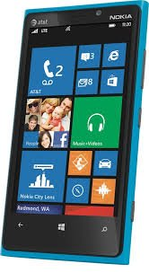 Nokia Lumia 920 32GB Unlocked GSM 4G LTE Windows Smartphone - Cyan Blue