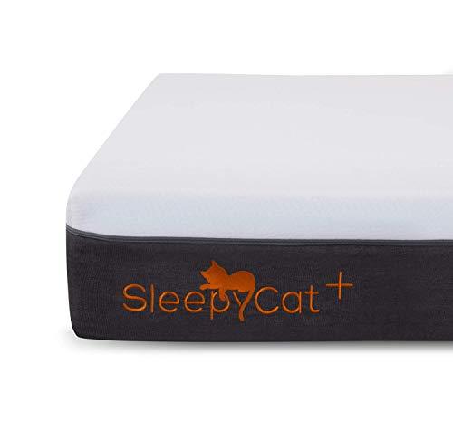 SleepyCat Orthopedic Gel Memory Foam Mattress (72x36x6 inches)
