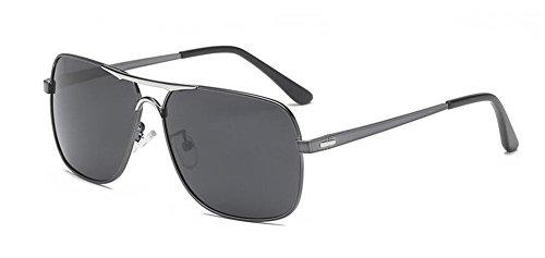 retro style du de polarisées en inspirées vintage Noir rond de Lennon B Frêne Morceau soleil lunettes cercle métallique x4qYXIn