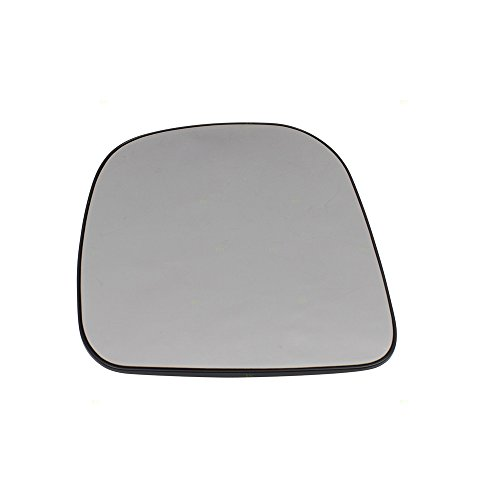 Part Van Auto - Drivers Side View Outside Single Mirror Glass & Base Sail Mounted Replacement for 96-02 GMC Chevrolet Van GM1323885