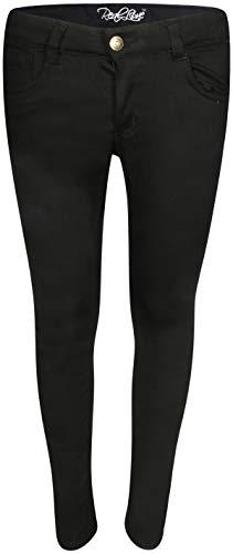Real Love Girls Super Stretch Twill Pants, Black, Size ()